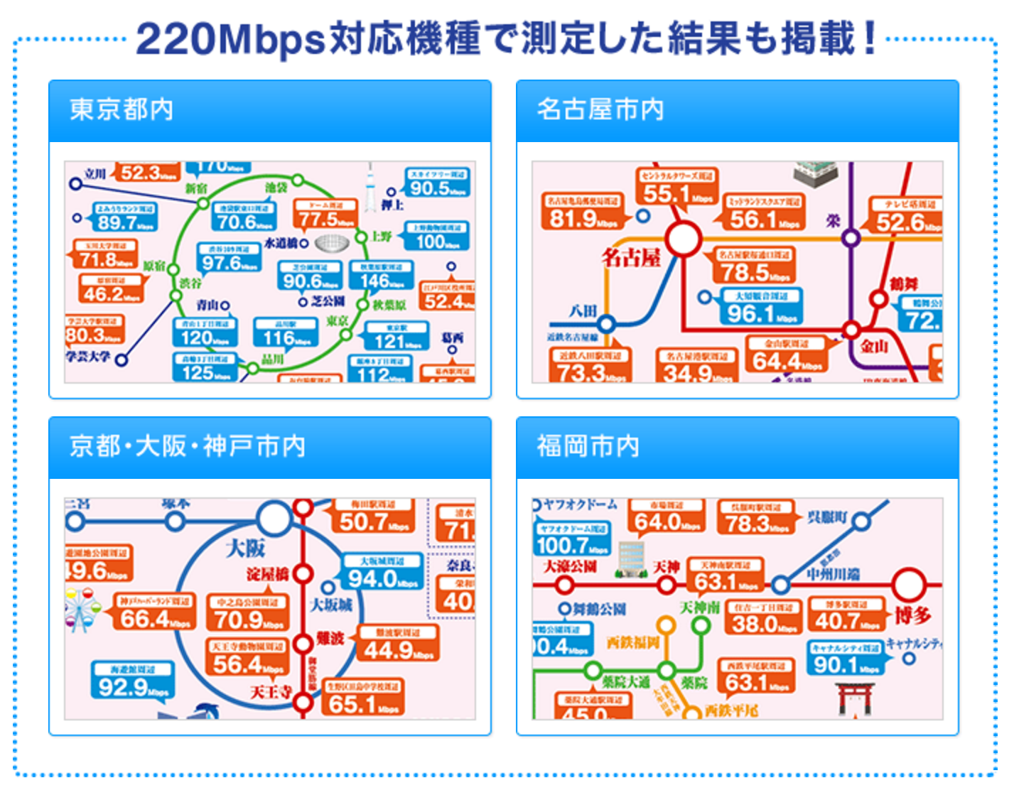 WiMAX_電車